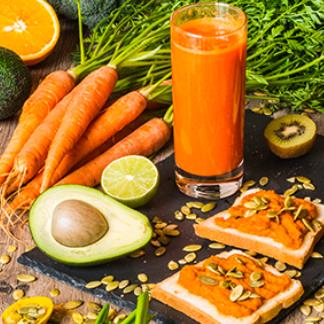 Arancione,<br> i colori del benessere