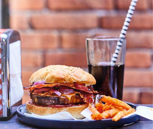 U.S. <br>Beef Burger